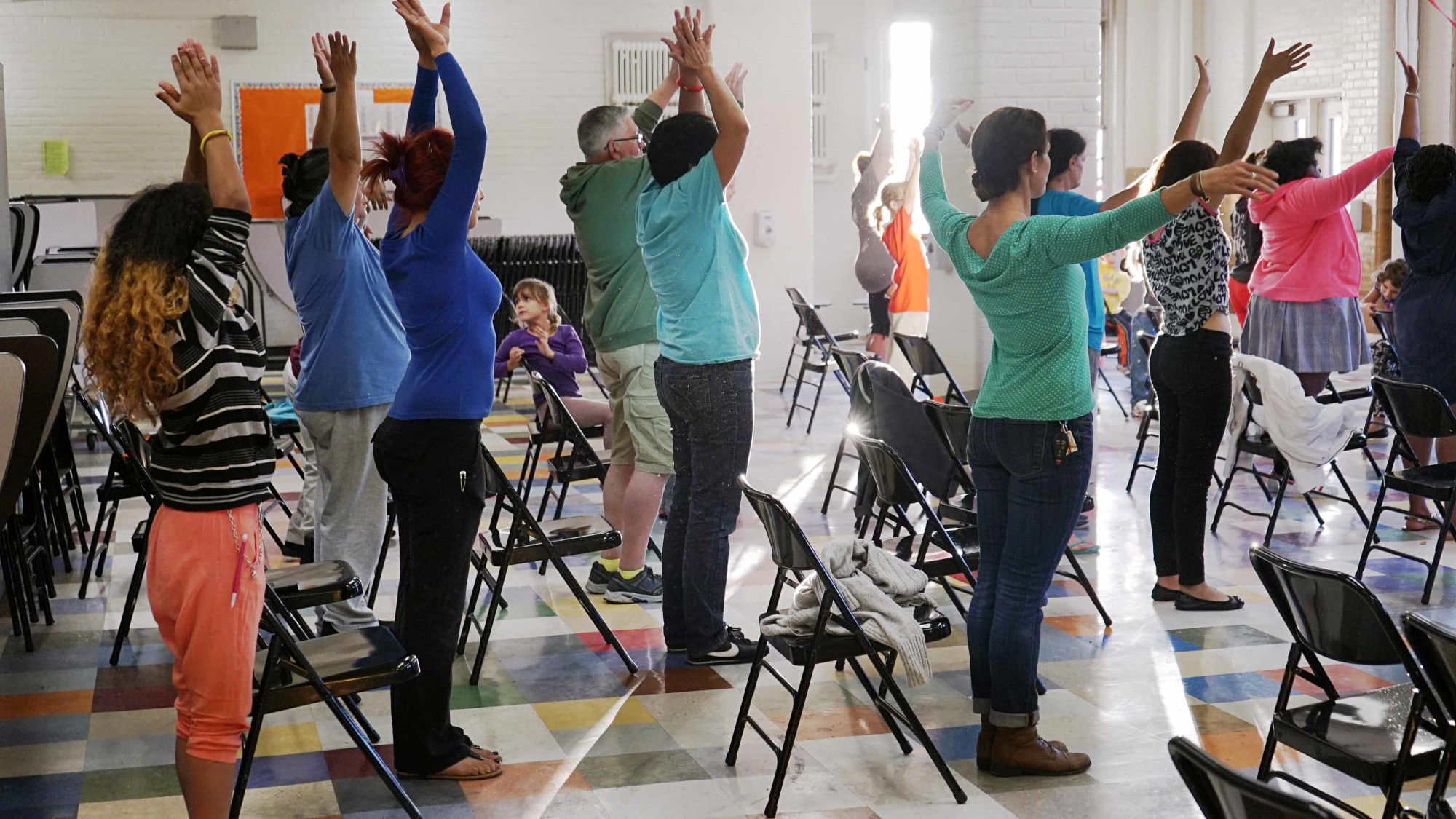 Yoga with our families
