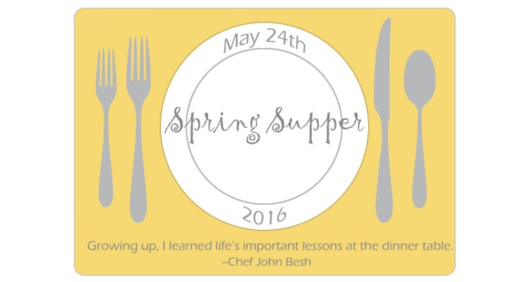 Spring-supper-invite-letterbox